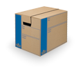 Bankers Box - Moving Boxes - Make your move effortless with our innovative tape-free box design with FastFold® assembly.