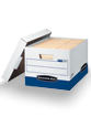 Bankers Box - Storage Boxes - Keep your documents organized and secure with a wide assortment of strong storage boxes.