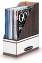 Bankers Box - Records Storage - Magazine Holders - Keep magazines and periodicals handy for easy reference.