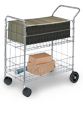 Workspace Organization - Mail Carts - Sturdy products for easy mail distribution.