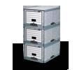 Ablageeinheiten - Platzsparende Lösung zur Archivierung und Aufbewahrung von Dokumenten.