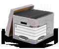 Caisses d'Archivage - Gardez vos documents organisés et sécurisés avec un large assortiment de boîtes de rangement solides.