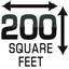 200 Square Feet