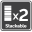 Stackable x2