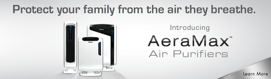 Protect Your Family From the Air They Breathe - Introducing AeraMax Air Filter from Fellowes