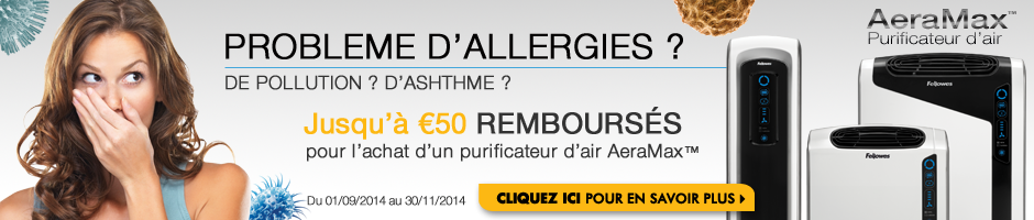 Probleme D'allergies ? Fellowes AeraMax Purificateur d'air