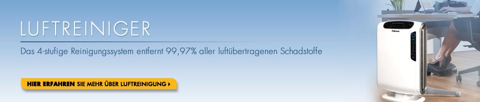Luftreiniger - Das 4-stufige Reinigungssystem entfernt 99,97% aller luftübertragenen Schadstoffe