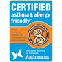 Certfied Asthma & Allergy Friendly
