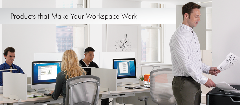 Fellowes Business Machines - Products that Make Your Workspace Work
