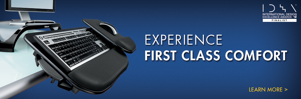 Experience First Class Comfort with Fellowes Workspace Ergonomic Products
