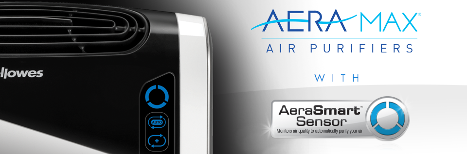 Fellowes Aeramax air purifiers