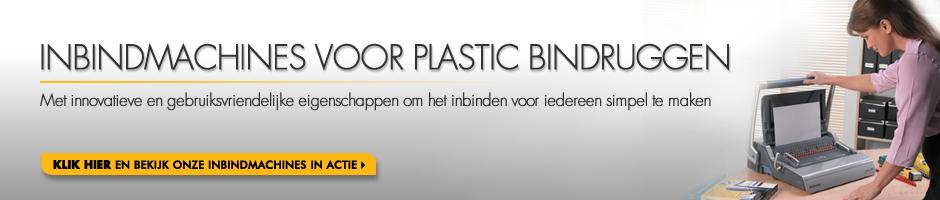 Inbindmachines Voor Plastic Bindruggen