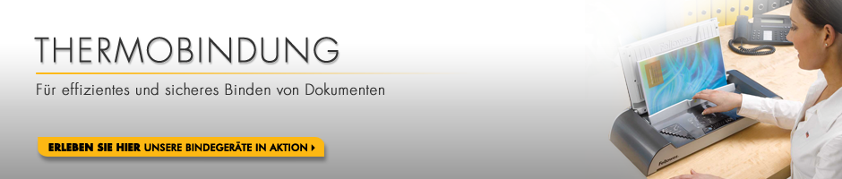 Thermobindung - Für effizientes und sicheres Binden von Dokumenten