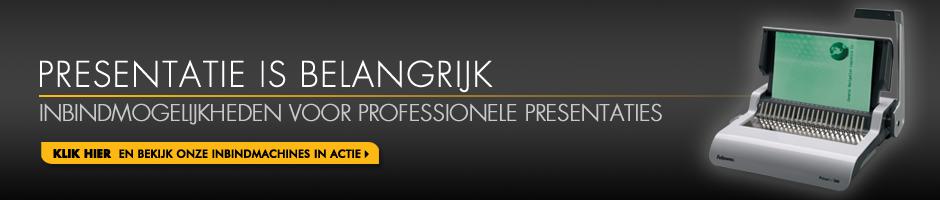 Inbindmogelijkheden voor professionele presentaties