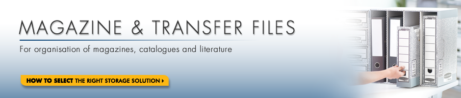 Bankers Box Magazine and Transfer Files