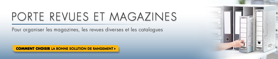 Bankers Box Porte Revues Et Magazines