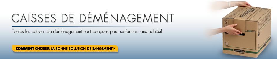 CAISSE DE DÉMÉNAGEMENT