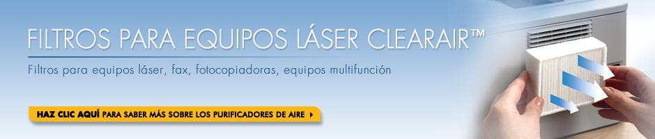 Filtros para equipos láser ClearAir™