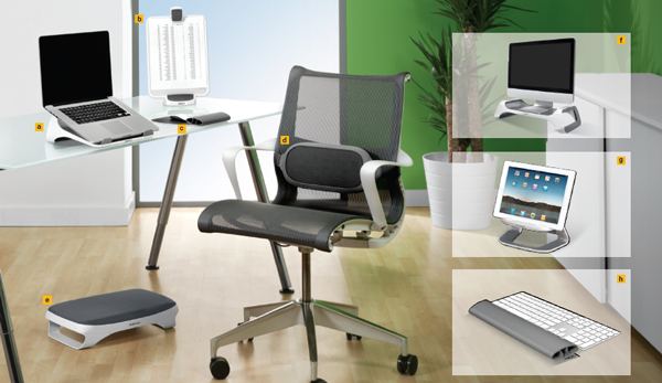 the fellowes i spire series of home office solutions