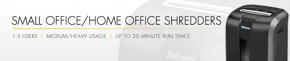 SmallOffice/Home Office Shredders