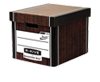 Bankers Box&#174; Premium PRESTO Tall Box - Woodgrain