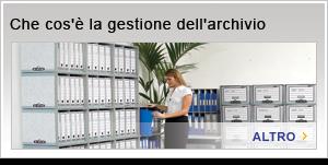 Che cos'è la gestione dell'archivio