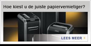 Hoe kiest u de juiste papiervernietiger