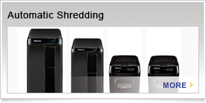 Fellowes AutoMax - The First, Truly Walk Away Shredder