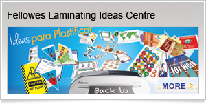 Fellowes Laminating Ideas Centre