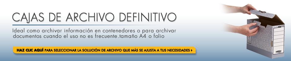 Haz clic aquí para seleccionar la solución de archivo que más se ajusta a tus necesidades