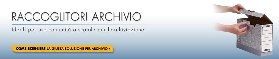 Raccoglitori Archivio - Ideali per uso con unità o scatole per l'archiviazione