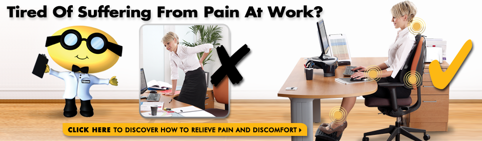 Tired of Suffering From Pain At Work?