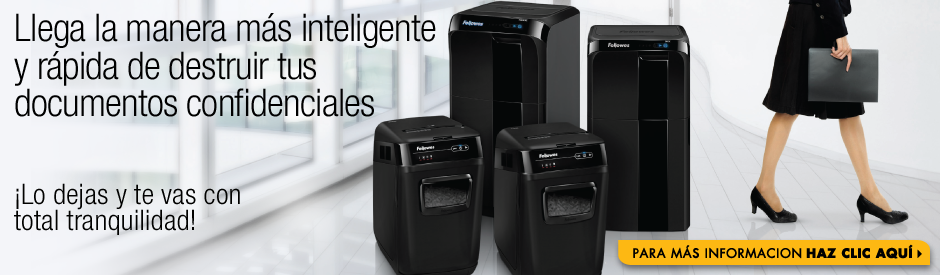 Destructoras Automáticas Fellowes