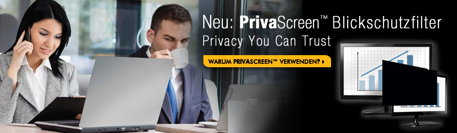 Neu: PrivaScreen Blickschutzfilter - Privacy you can Trust
