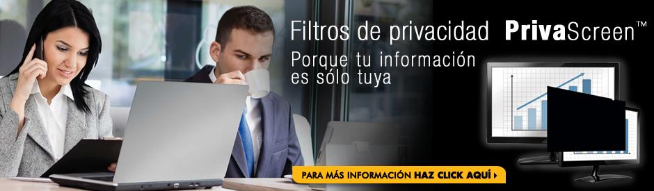 Filtros de privacidad PrivaScreen La privacidad en la que puedes confiar