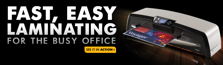 Fast, Easy Laminating for the Busy Office