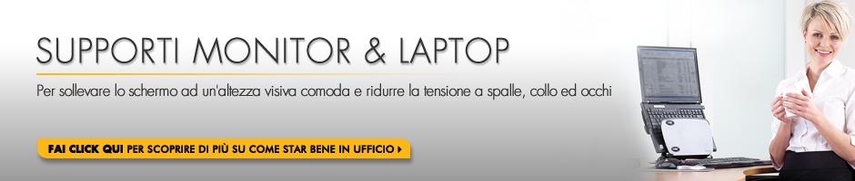 Supporti Monitor & Laptop