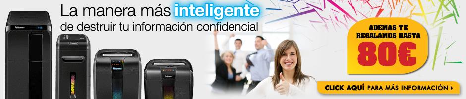 Fellowes® - La manera más inteligente de proteger tu información confidencial