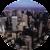 Alfombrilla para Ratón Circular Rígida Ciudad__Cityscope_MouseMat_58834_F.png