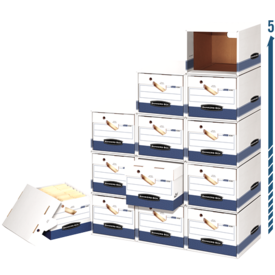 Bankers Box® File/Cube™ Box Shell – Letter/Legal