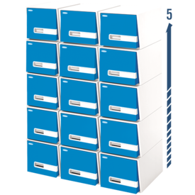"Bankers Box® Stor/Drawer® Premier™– 18"" Legal, Blue"