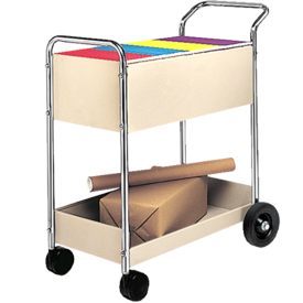 Steel Mail Cart