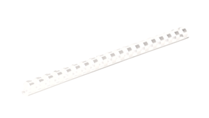 "Plastic Combs - Round Back, 1/2"", 90 sheets, White, 100 pk__52372 RF.png"