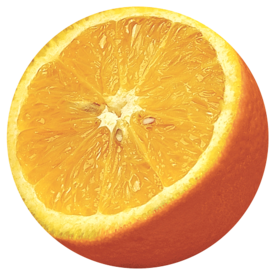 Alfombrilla para Ratón Circular Rígida Naranja __5880801.png