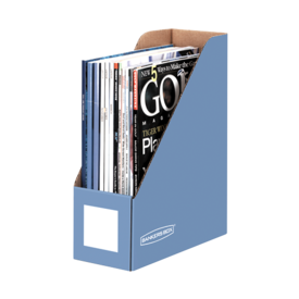 Bankers Box® Cornflower Blue Magazine Files - Letter
