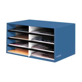 Bankers Box&#174; Literature Sorter - Letter, Cornflower Blue__61103.png