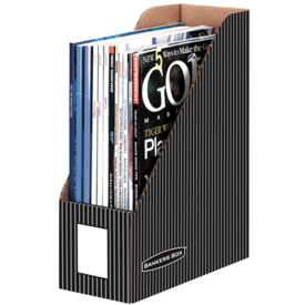 Bankers Box® Pinstripe Magazine Files - Letter
