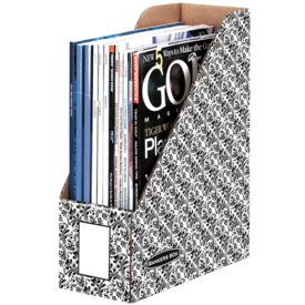 Bankers Box® Brocade Magazine Files - Letter