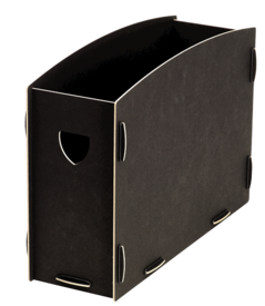 Rangement pour dossiers suspendus Earth Series™ Noir__80151_ES_A4SuspensionFileBox_black.png