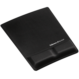Mousepad c/supporto polsi Health-V™ in tessuto - Nero__9181201_A_Hero.png